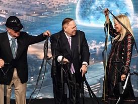 Charles Dolan, Miriam Adelson, Sheldon Adelson