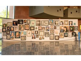 Portraits of 1 October victims are on display