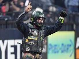 Chase Outlaw celebrates