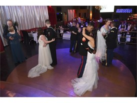 Couples share first dance