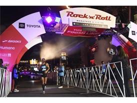 Marathon winner Tommy Puzey