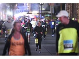 Runners head north