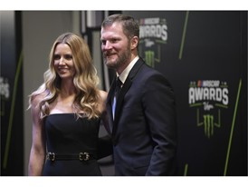 Dale Earnhardt Jr. and his wife Amy Earnhardt
