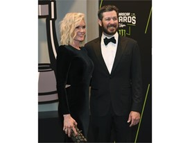 Martin Truex Jr. and his girlfriend Sherry Pollex