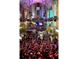 New Year's Eve at the Fremont Street Experience