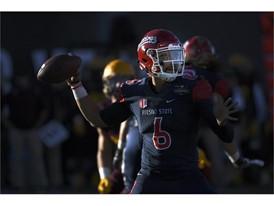 Fresno State quarterback Marcus McMaryion