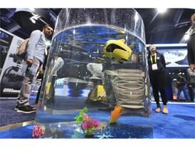 An underwater drone