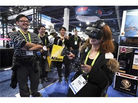 Wireless virtual reality gear