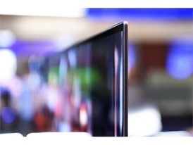 An ultra thin television screen