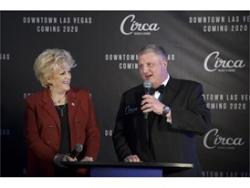 Las Vegas Mayor Carolyn Goodman joins Derek Stevens