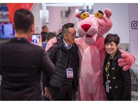 World of Concrete Pink Panther