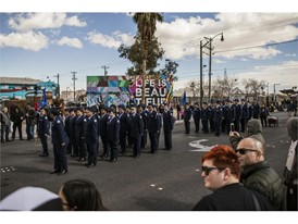 Members of the Cimarron Memorial High School Air Force