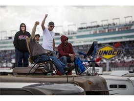 Fans enjoy the 23rd Annual Boyd Gaming 300