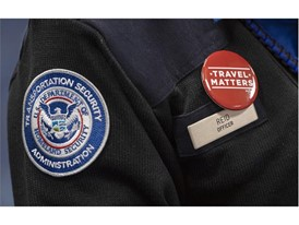 A Transportation Security Administration (TSA) agent