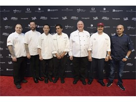 Chefs from various restaurants from the Forum Shops at Caesars