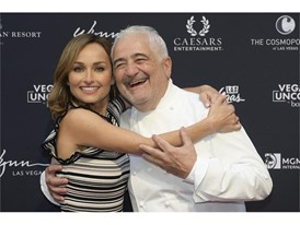 Giada De Laurentiis and chef Guy Savoy