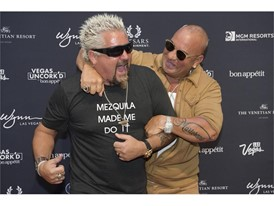 Guy Fieri and Steve Martorano