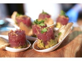 Tuna tartare from BLT Steak