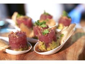 Tuna tartare from BLT Steak