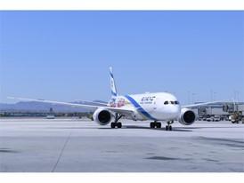 An EL AL Israel Airlines 787-9 Dreamliner