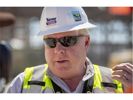 Dewey Newton, senior vice president of Turner Construction