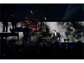 Luis Miguel preforming on Thursday, Sept 12, 2019 at The Colosseum at Caesars Palace