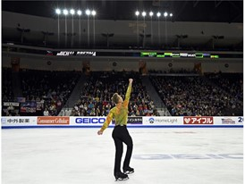 Michal Brezina of the Czech Republic performs
