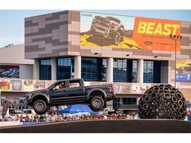 A Ford Raptor pickup