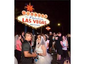 Newlyweds Jorge and Daniela Castellanos of Weslaco, Texas
