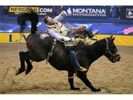 Day 1: Ty Bruer rides Mandan
