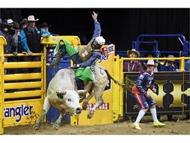 Day 1: Bull rider Jordan Spears