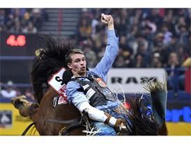 Final: Bareback rider Orin Larsen