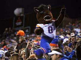 Boise State mascot Buster Bronco