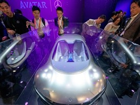 Mercedes Benz concept Avatar autonomous vehicle