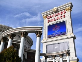 The marquee at Caesars Palace