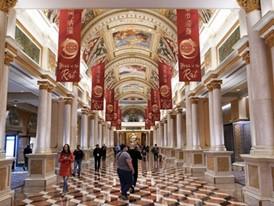 Reception Area of the Venetian