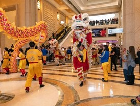 Chinese New Year Lion Dance