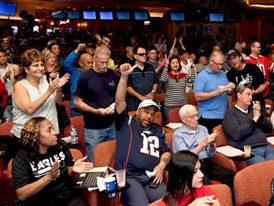 Fans flock to the South Point Hotel & Casino