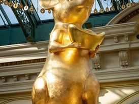 A golden rat