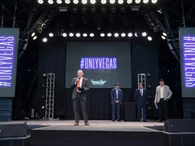 Fremont Street Experience President and CEO Patrick Hughes
