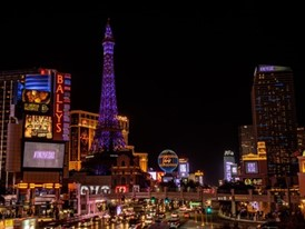Las Vegas Strip view