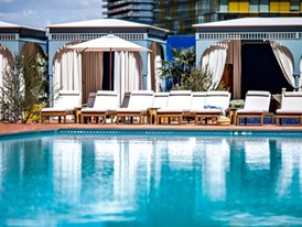 NoMad Las Vegas pool at Park MGM