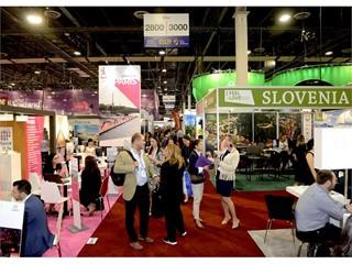 IMEX America convention floor