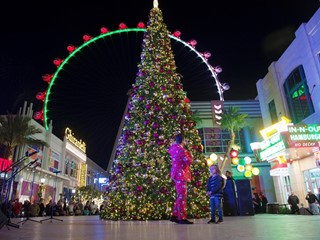 Las Vegas Aglow with Holiday Celebrations