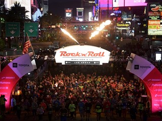 2018 Toyota Rock 'n' Roll Las Vegas Marathon