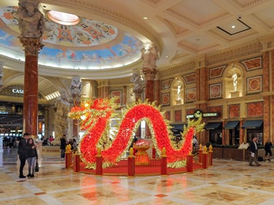Las Vegas Celebrates Chinese New Year with Special Entertainment, Decor and Culinary Offerings to Ri
