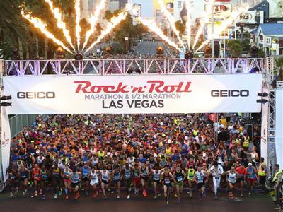 Elvis Wins 50th Las Vegas Marathon