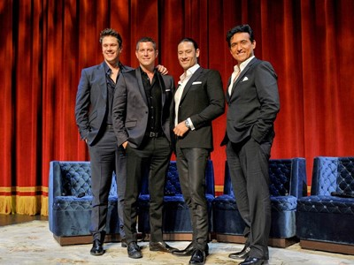 Il Divo to Headline Limited Engagement at The Venetian Las Vegas