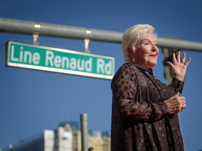 Legendary Performer Line Renaud Honored in Las Vegas