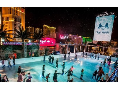 The Ice Rink at The Cosmopolitan of Las Vegas
